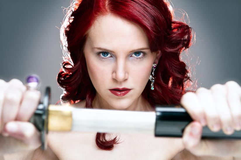 Lauren Linton - Sword Fighter Chick